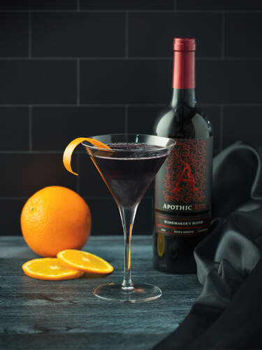 Apothic Red Cosmo Cocktail
