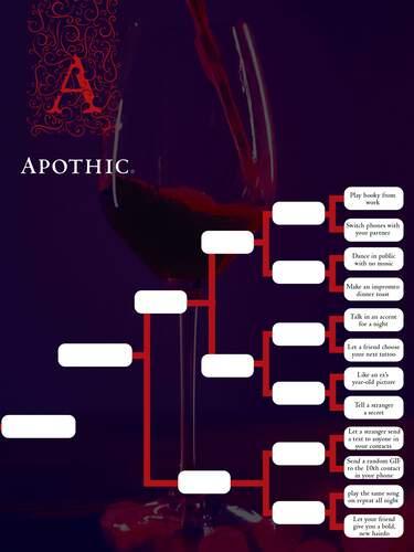 Apothic Wines March Mischief Bracket