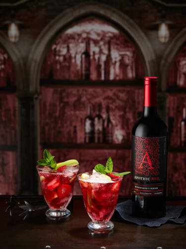 Rebellious Red Sangria Cocktail