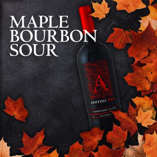 Apothic's Maple Bourbon Sour Cocktail Recipe