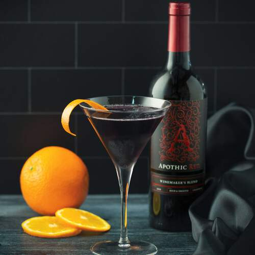 Red Wine Cosmo from Apothic Wines