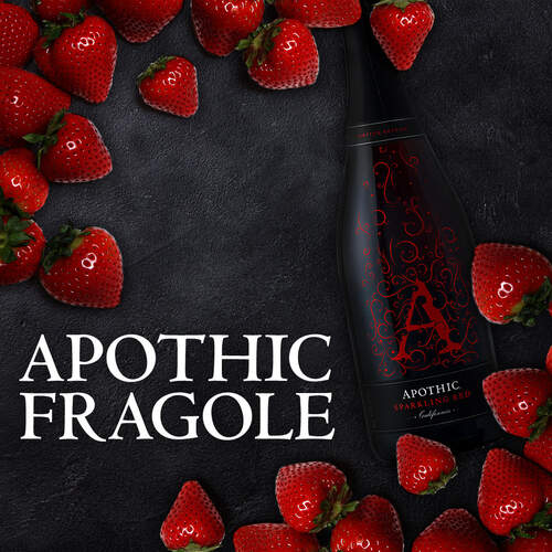 Fragole On Ice Sparkling Cocktail Recipe