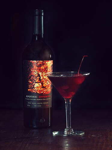 Dash of Fire Cocktail Recipe from Apothic Wines