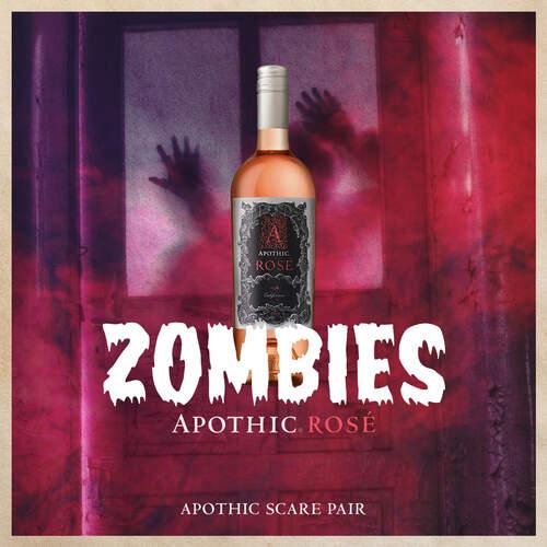 Apothic Rosé Zombies