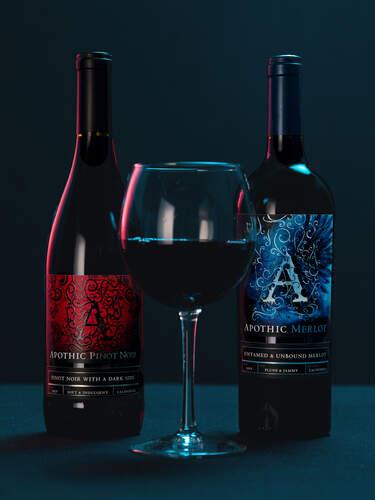 Apothic Pinot Noir and Merlot