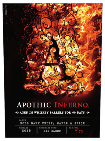 Apothic Inferno V18 750ml image number 3